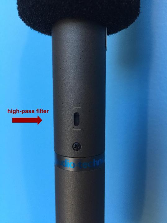 high pass filter w arrow