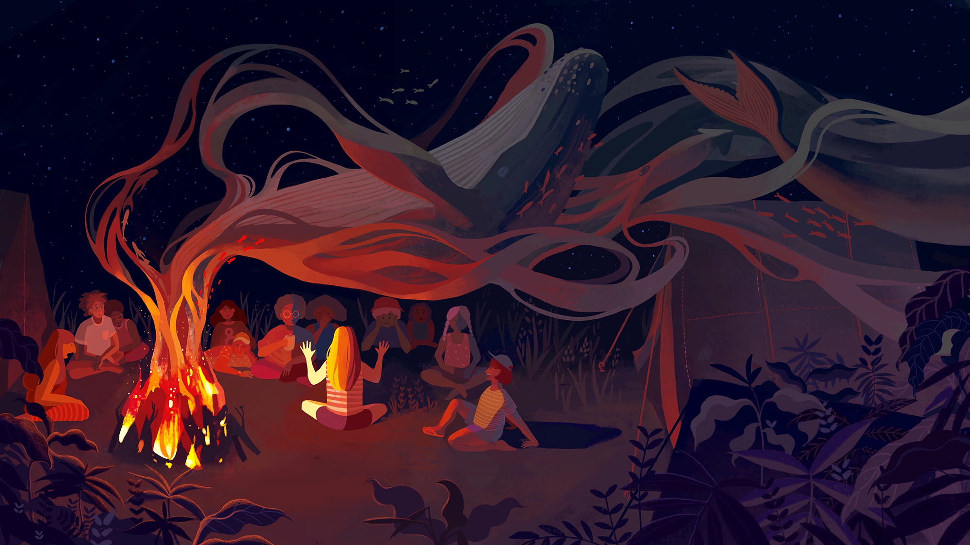 Campfire tales: The essentials of writing for radio | NPR