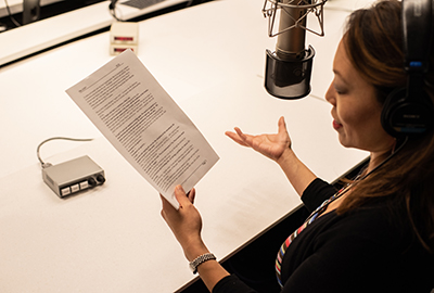 What does a radio script look like? | NPR Training
