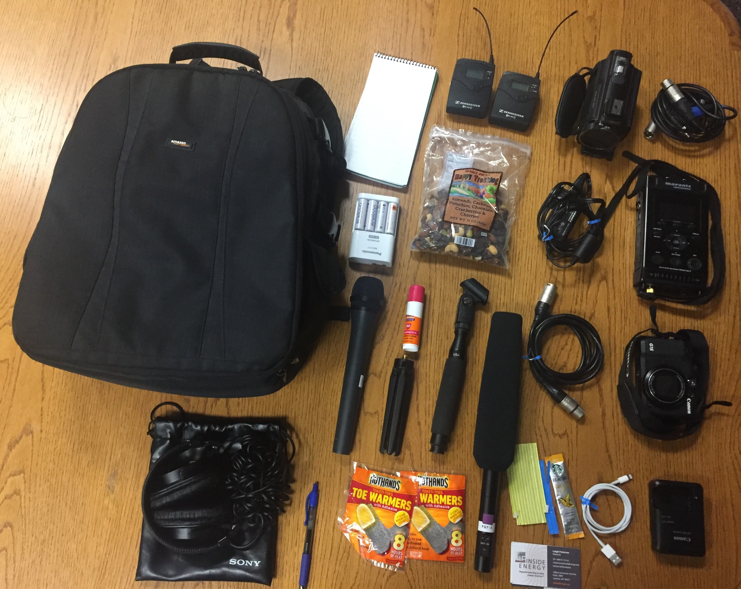 What's in your bag, Leigh Patterson?