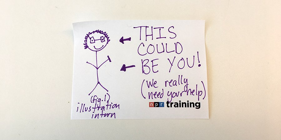 Apply for the NPR Training Internship